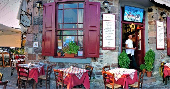 Restaurantele Din Portul Molyvos